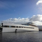 Steve Jobs' yacht makes its first appearance (2 Pictures + Clip)