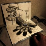 3D Illustrations Jump Out of the Sketchbook (11 Pictures + Clip)