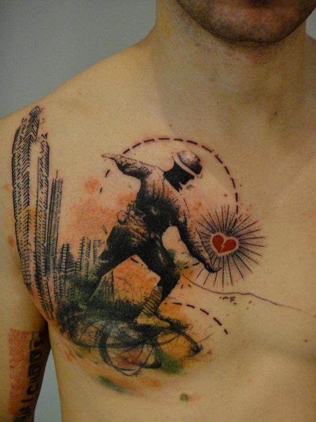 Photoshop Tattoos by Xoïl aka Loïc (8)