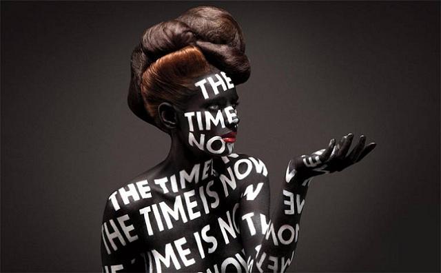 Amazing Typografie-Bodypaintings by Sagmeister & Walsh (1)