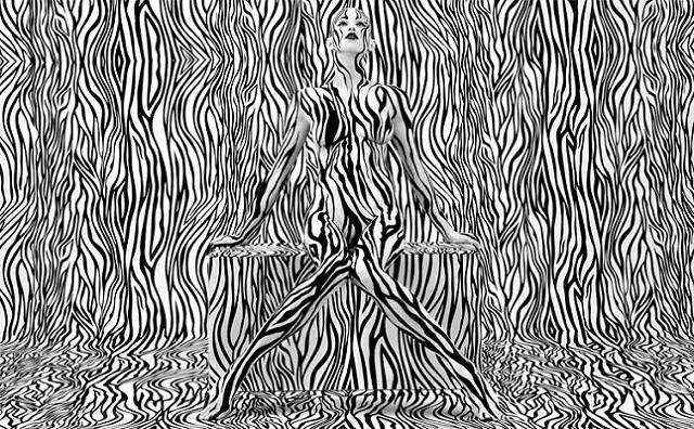 Amazing Typografie-Bodypaintings by Sagmeister & Walsh (3)