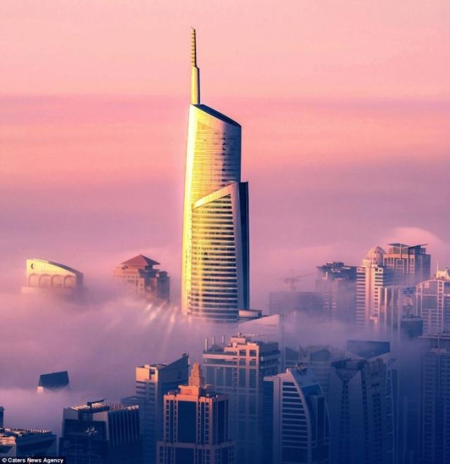 Cloudlands of Dubai by Sebastian Opitz