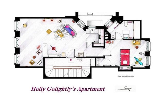 Floor Plans of Popular TV Show Apartments and Houses by Iñaki Aliste Lizarralde (15)