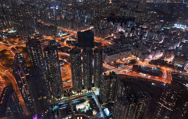 Hong Kong Cityscapes by Jens Fersterra  (4)