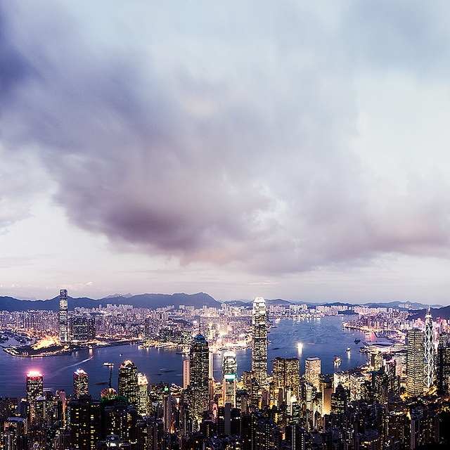 Hong Kong Cityscapes by Jens Fersterra  (5)