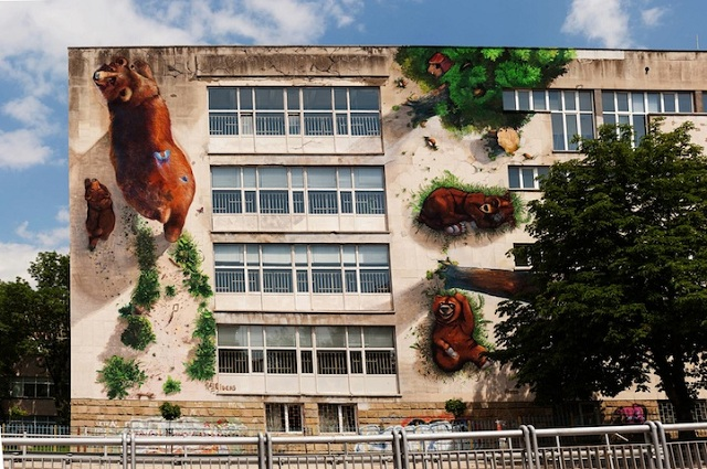 Street Art Fusing with Nature (5)