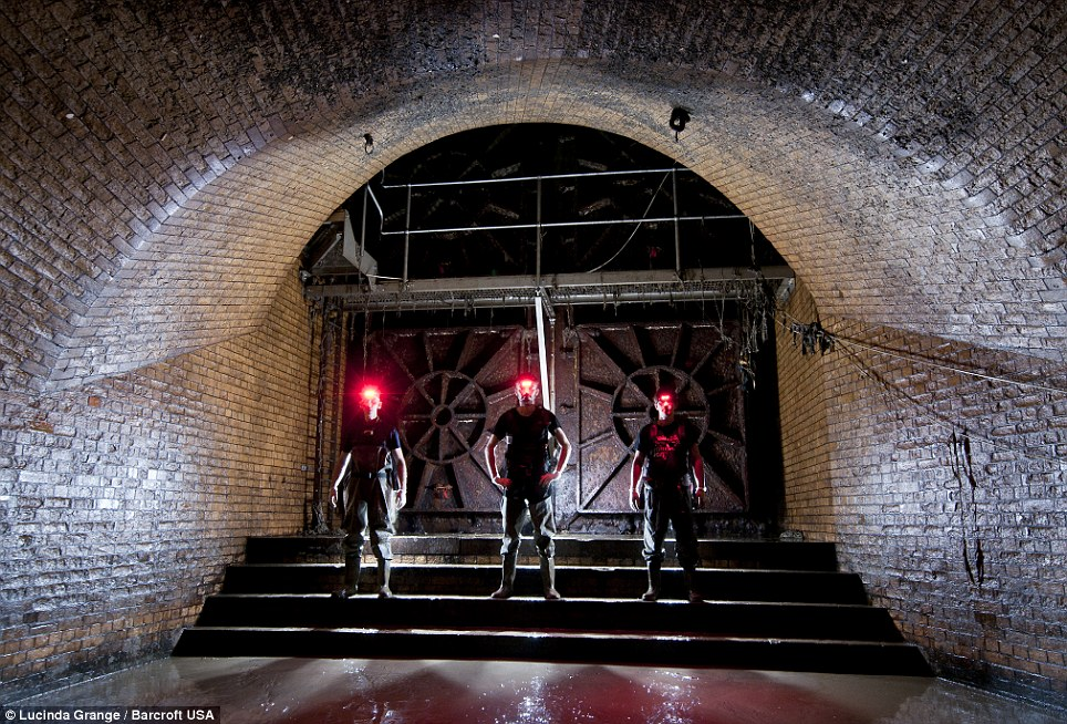 Underworld: Mark Explo, Bradley Garrett and Luca Urban, descend beneath London to find the underground River Fleet in London