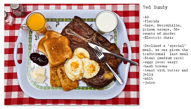 Death Row Prisoners' Last Meals by Henry Hargreaves (10)
