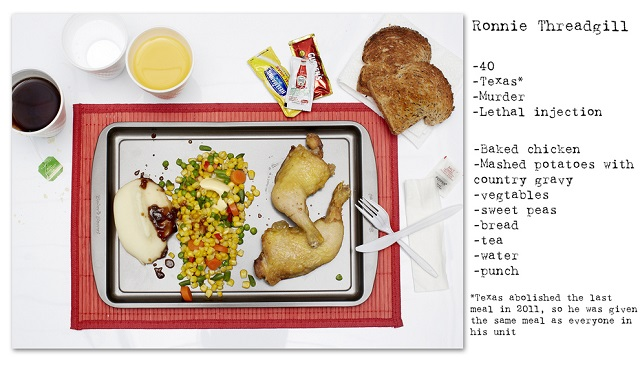Death Row Prisoners' Last Meals by Henry Hargreaves (11)