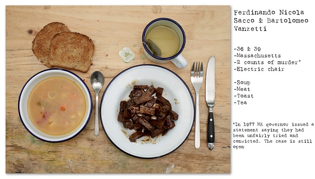 Death Row Prisoners' Last Meals by Henry Hargreaves (12)