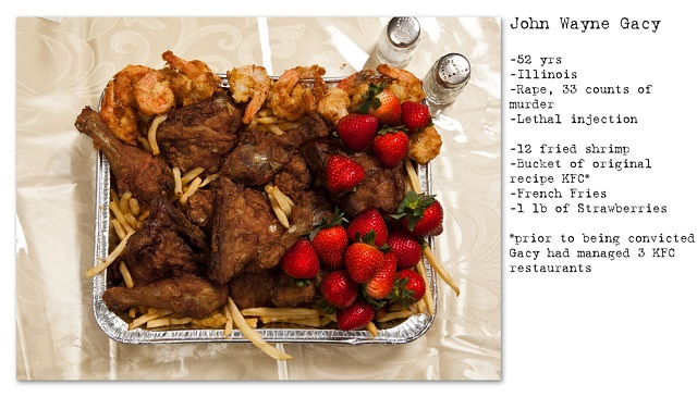 Death Row Prisoners' Last Meals by Henry Hargreaves (2)