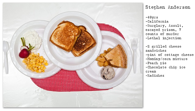 Death Row Prisoners' Last Meals by Henry Hargreaves (3)