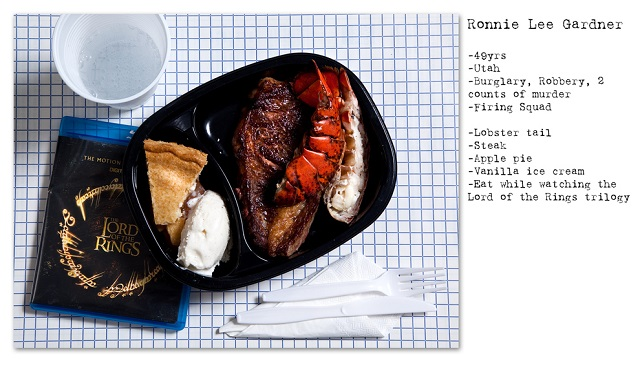 Death Row Prisoners' Last Meals by Henry Hargreaves (5)