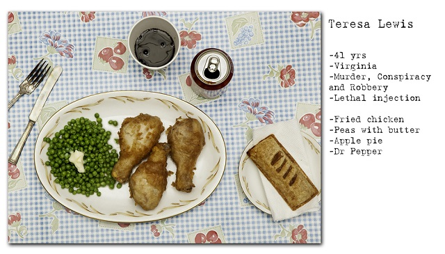 Death Row Prisoners' Last Meals by Henry Hargreaves (9)