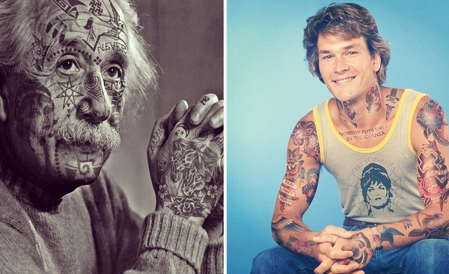 Celebrities With Shopped Tattoos (15)