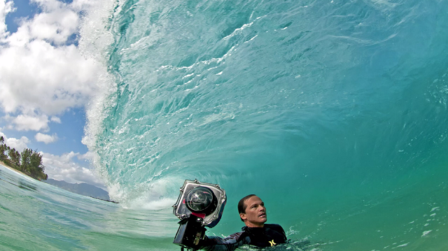 Shooting The Swells (by Photographer Clark Little) (1)